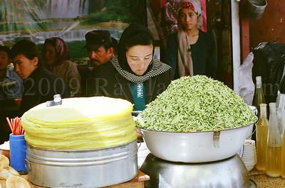 Xinjiang - Silk Road - Kashgar - Sunday Bazaar - China - ©Rawlandry