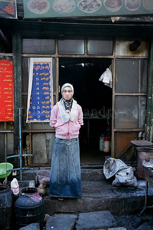 Xinjiang - Silk Road - Urumqi- street - China - ©Rawlandry