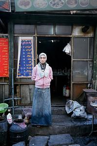 Xinjiang - Silk Road - Urumqi- street - China - ©Rawlandry