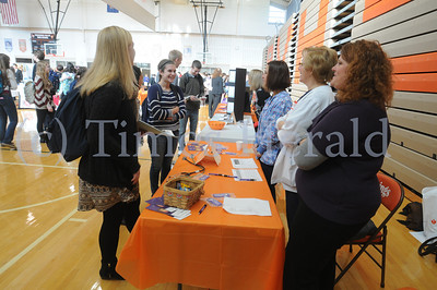 Career / Volunteer fair held at Perk Valley High School