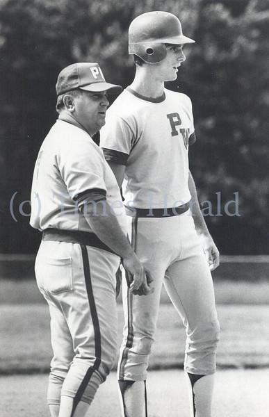 Former Plymouth Whitemarsh High School baseball coach Henry DeMito
