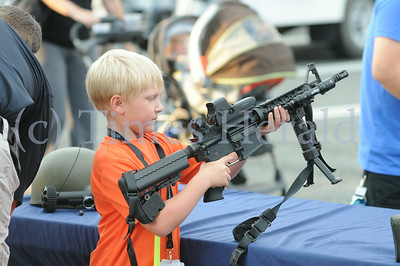 Plymouth township's National Night Out event