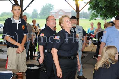 Lance Cpl Michael Lentz receives Heros Welcome in Skippack