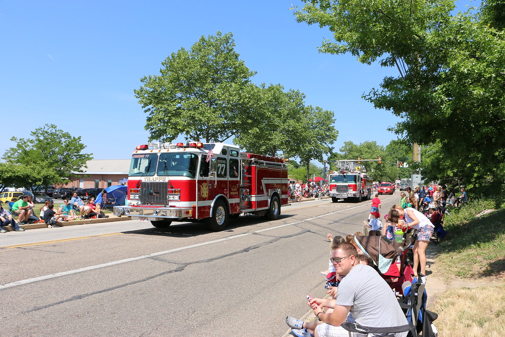 . Hundreds of community members gathered along Main Street to watch the annual parade and celebrate Memorial Day with friends and family.
