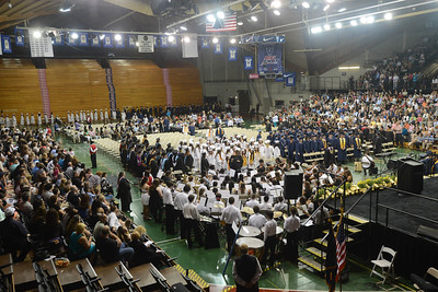 Upper Merion High School celebrated their 2015 Commencement at Villanova University. Tuesday, June 9, 2015. Adrianna Hoff—The Times Herald.
