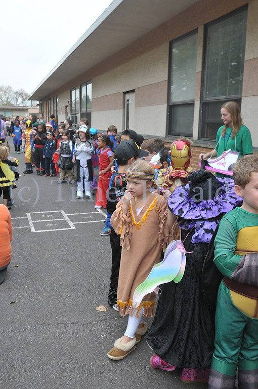 . Whitemarsh Elementary School holds their annual Halloween Parade.  Whitemarsh, October 31, 2013.  Photo by Adrianna Hoff/Times Herald Staff.