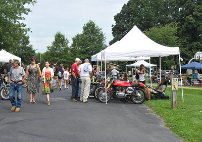 Vintage Motorcycle Daze Meet and Swap