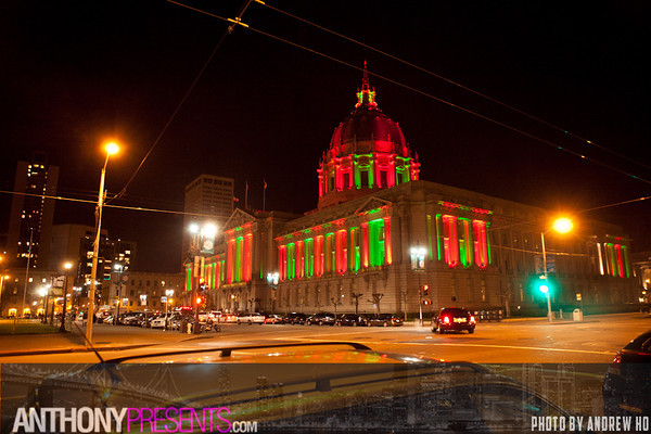 New Years Eve @ San Francisco City Hall 12/31/2012