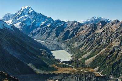Tak to je on - Aoraki, nejvyšší hora Zélandu a posvátné místo Maorů
