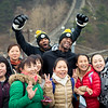 November 18, 2015 - NFL China Pittsburgh Steelers Super Bowl XLIII Champions Tour. Ryan Clark and Ike Taylor interact with smiling local Chinese on the Great Wall of China. Check out Ryan's infamous panda hands.