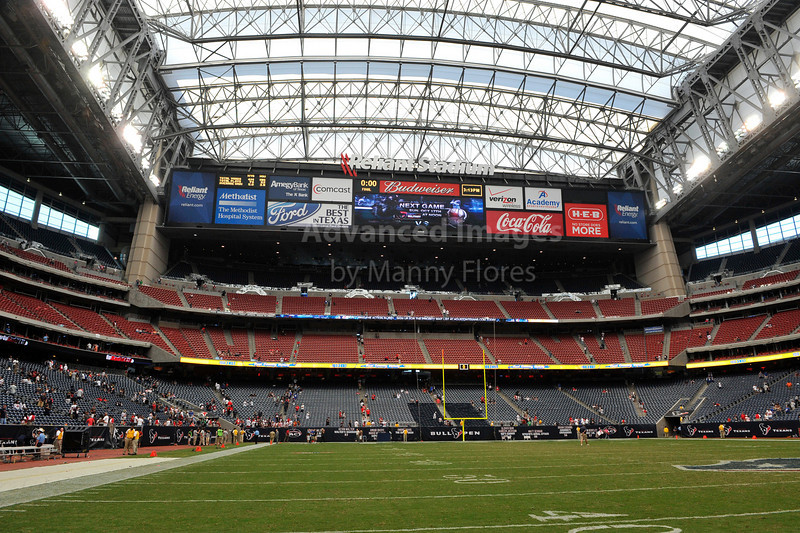 Oct 10 2010:  <br /> Reliant Stadium in Houston Texas in a game between New York Giants and the Houston Texans at Reliant Stadium in Houston, Texas.<br /> New York Giants win 34-10.<br /> (Credit Image: © Manny Flores/Cal Sport Media)