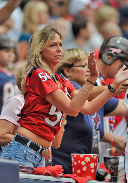 10 Oct 2010:  <br /> Houston Texans fans support their team<br /> in a game between the New York Giants and the Houston Texans at Reliant Stadium in Houston Texas.<br /> Giants win 34-10