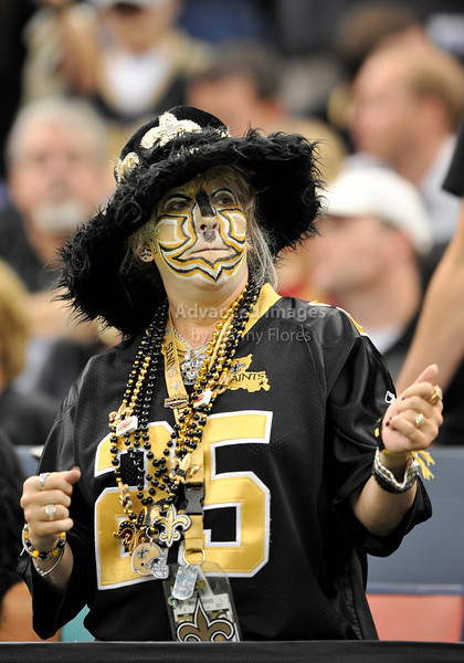 Sept 26 2010:  <br /> Saints fans try to get the team involved<br /> in a game between Atlanta Falcons vs New Orleans Saints at the Superdome in New Orleans, LA. <br /> Atlanta Falcons win in overtime 27-24<br /> (Credit Image: © Manny Flores/Cal Sport Media)