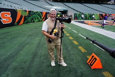 Steve Bullock, Photographer @ Vikings v Bengals