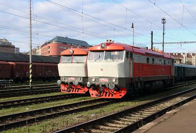 T478 1008 (90 54 3749 008-9) at Prague Vrsovice on 5th February 2016