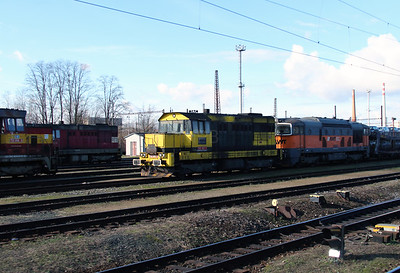 AWT, 742 507 (92 54 2742 507-7 CZ-AWT) at Kolin Yard on 5th February 2016 (2)