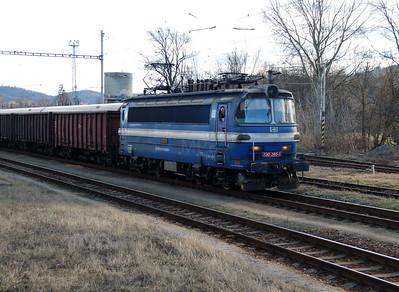 230 065 (91 54 7230 065-5 CZ-CDC) at Tisnov on 5th February 2016 (2)