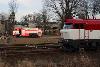 T478 1001 (90 54 3751 001-9 CZ-CD) at Budisov nad Budisovkou on 7th February 2016 working Railtour (11)