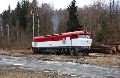 T478 1001 (90 54 3751 001-9 CZ-CD) at Mala Moravka on 7th February 2016 working Railtour (13)