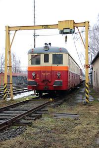 M262 1168 at Sumperk Depot on 6th February 2016 (2)