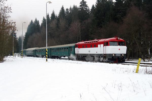 Czech Rep : NFP Railtour