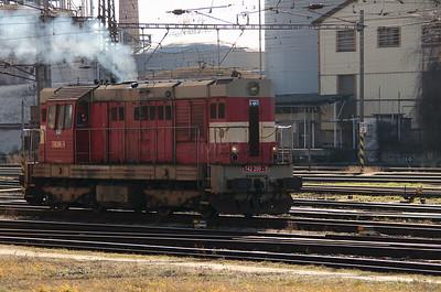 742 200 at Kolin Yard on 5th February 2016