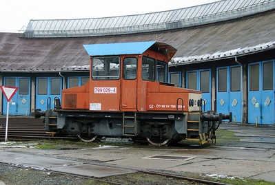 799 029 (98 54 799 029-4 CZ-CD) at Sumperk Depot on 6th February 2016 (1)