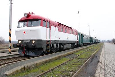 T478 1001 (90 54 3751 001-9 CZ-CD) at Senice na Hane on 6th February 2016 working Railtour (2)