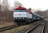 T478 1001 (90 54 3751 001-9 CZ-CD) at Budisov nad Budisovkou on 7th February 2016 working Railtour (39)