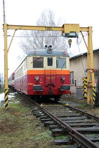 M262 1168 at Sumperk Depot on 6th February 2016 (1)