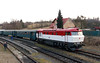 T478 1001 (90 54 3751 001-9 CZ-CD) at Budisov nad Budisovkou on 7th February 2016 working Railtour (6)