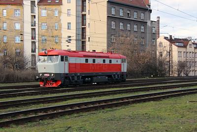 T478 1008 (90 54 3749 008-9) at Prague Vrsovice on 5th February 2016 (5)