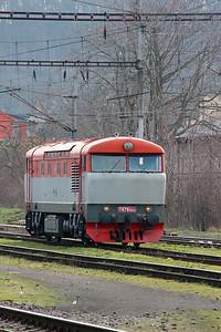 T478 1004 (90 54 3751 004-7) at Prague Vrsovice on 5th February 2016 (7)