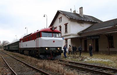 T478 1001 (90 54 3751 001-9 CZ-CD) at Mala Moravka on 7th February 2016 working Railtour (22)