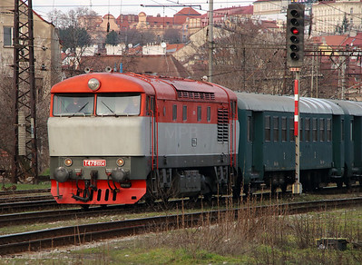 T478 1004 (90 54 3751 004-7) at Prague Vrsovice on 5th February 2016 (2)