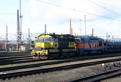 AWT, 742 507 (92 54 2742 507-7 CZ-AWT) at Kolin Yard on 5th February 2016 (4)