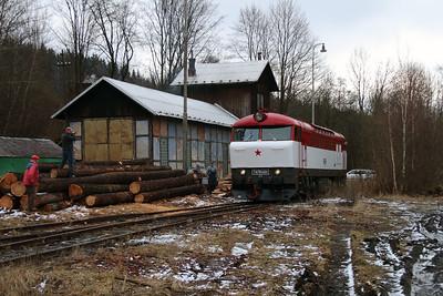 T478 1001 (90 54 3751 001-9 CZ-CD) at Mala Moravka on 7th February 2016 working Railtour (11)