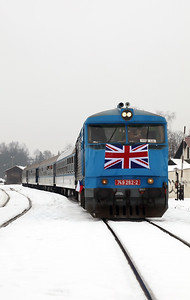 AHD, 749 262 (92 54 2749 262-2 CZ-AHD) at Ceska Lipa Hlavni Nadrazi on 4th February 2017 working NFP Railtour  (13)