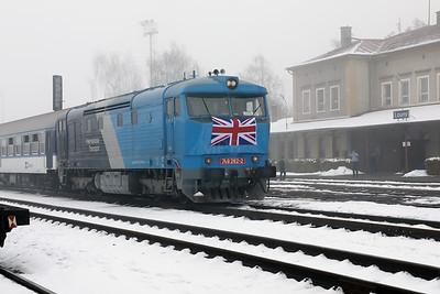 AHD, 749 262 (92 54 2749 262-2 CZ-AHD) at Louny on 4th February 2017 working NFP Railtour (6)