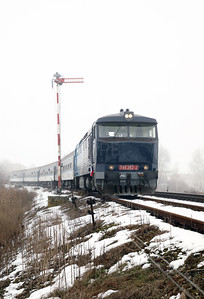 AHD, 749 262 (92 54 2749 262-2 CZ-AHD) at Outside Krupa on 4th February 2017 working NFP Railtour (7)