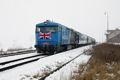 AHD, 749 262 (92 54 2749 262-2 CZ-AHD) at Chotesov pod Hazmburkem on 4th February 2017 working NFP Railtour (12)