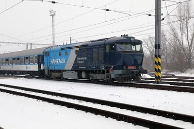 AHD, 749 262 (92 54 2749 262-2 CZ-AHD) at Zatec on 4th February 2017 working NFP Railtour (26)