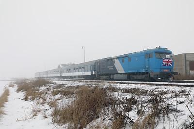 AHD, 749 262 (92 54 2749 262-2 CZ-AHD) at Chotesov pod Hazmburkem on 4th February 2017 working NFP Railtour (9)