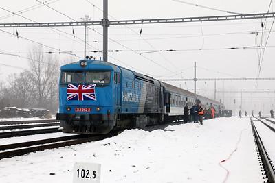 AHD, 749 262 (92 54 2749 262-2 CZ-AHD) at Zatec on 4th February 2017 working NFP Railtour (8)