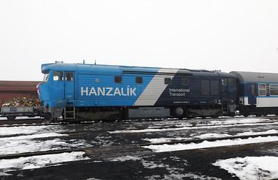 AHD, 749 262 (92 54 2749 262-2 CZ-AHD) at Louny on 4th February 2017 working NFP Railtour (12)