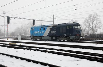 AHD, 749 262 (92 54 2749 262-2 CZ-AHD) at Zatec on 4th February 2017 working NFP Railtour (10)
