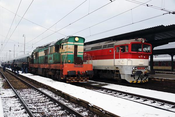 February 2018 : Czech Rep & Slovakia Grumpy railtour