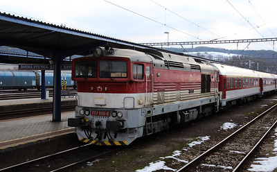 757 008 (92 56 1757 008-8 SK-ZSSK) at Banska Bystrica on 5th February 2018 (1)