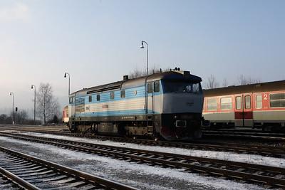 KZC, T478 2065 (90 54 3749 259-8 CZ-KZC) at Horna Stubna on 5th February 2018 working Grumpy Railtour (9)
