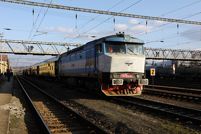 KZC, T478 2065 (90 54 3749 259-8 CZ-KZC) at Zvolen Nakladna Stanica on 5th February 2018 working Grumpy Railtour (13)